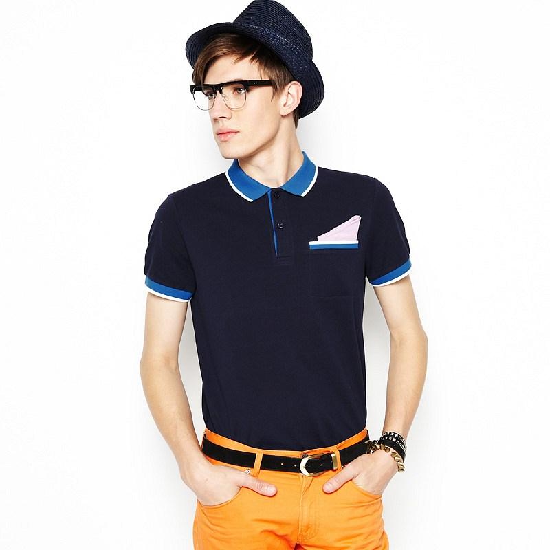 男士短袖时尚polo衫