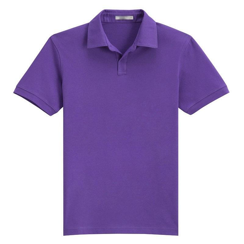 紫色T恤衫