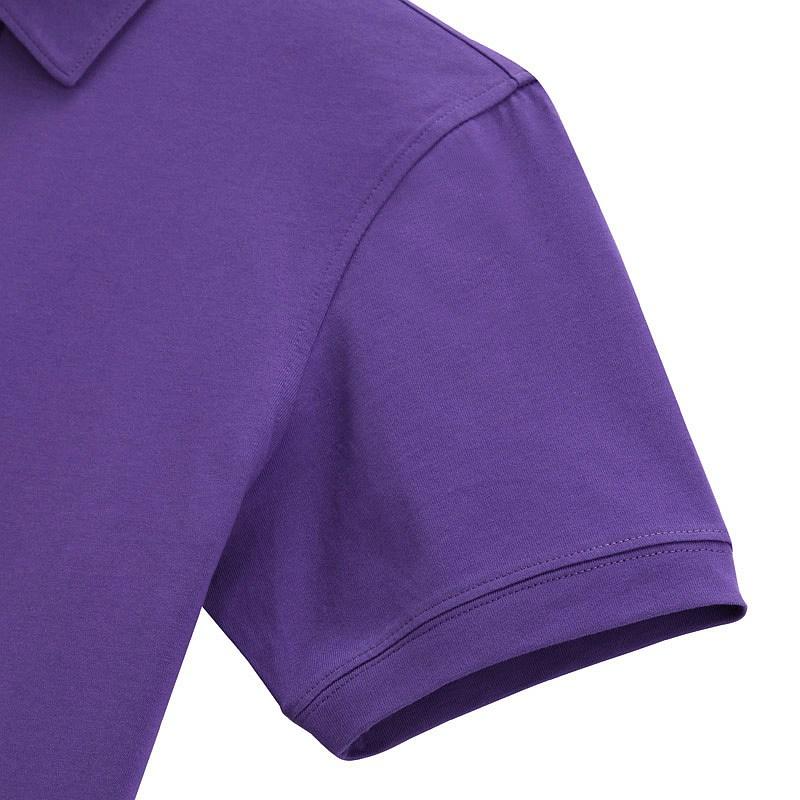 紫色短袖T恤衫