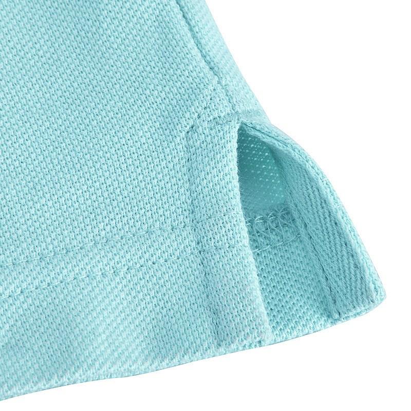 水蓝色商务POLO衫