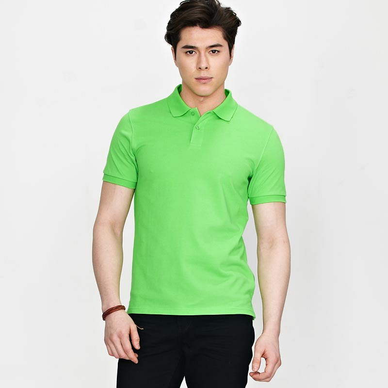 男士绿色T恤衫