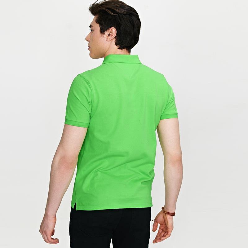 苹果绿男士T恤衫