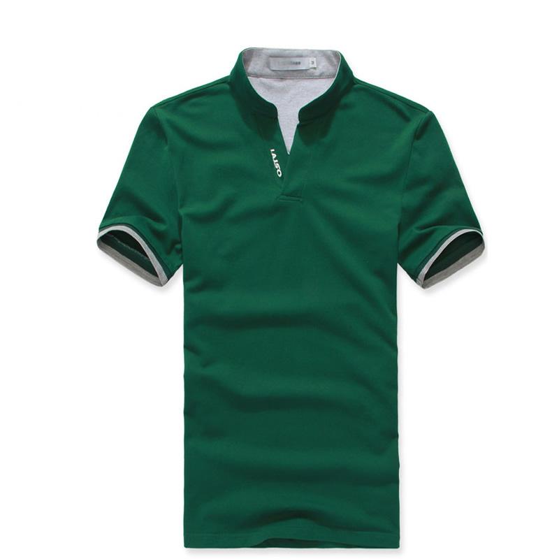 立领潮流T恤衫