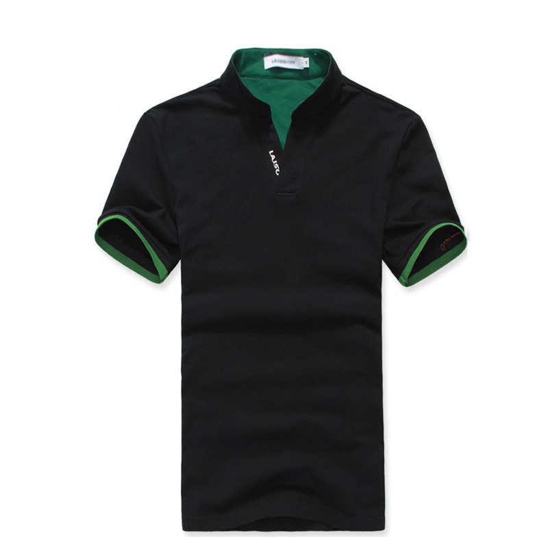 男式V领T恤衫