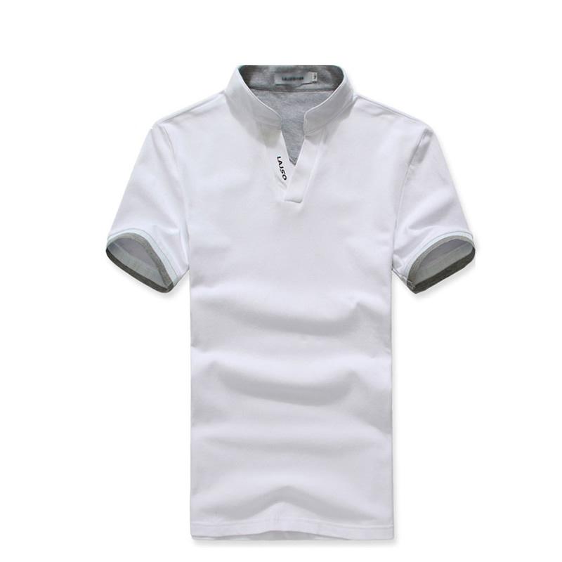 时尚V领T恤衫