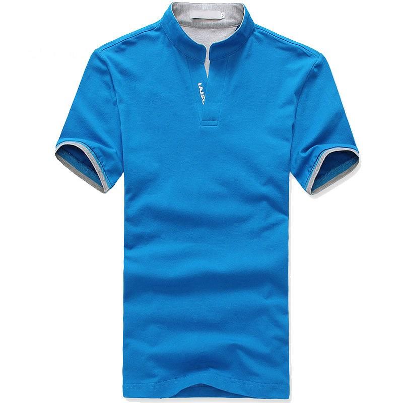 小立领T恤衫