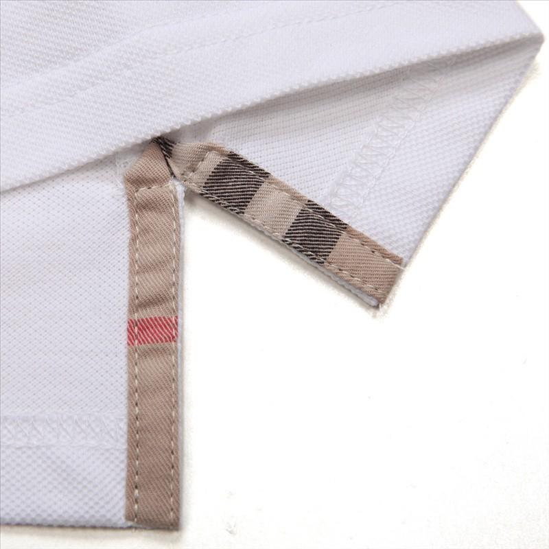 白色休闲POLO衫